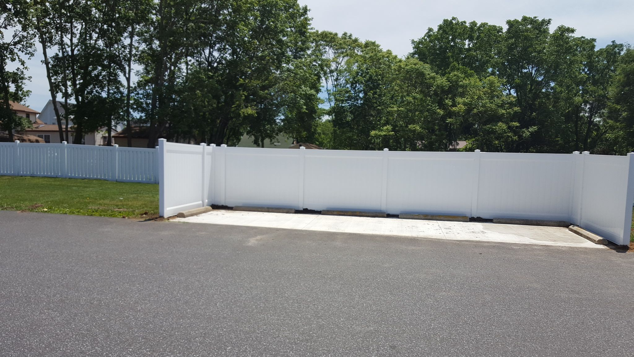 6 ft Privacy Vinyl ~Call today for free consultation. 856-875-6233