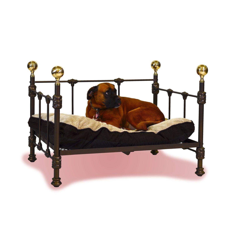 Medium Palatial Dog Bed Brass Beds of Virginia Brass