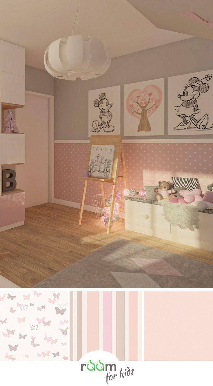 Dekorationsbrett Kinderzimmerwände mit Schmetterlingen #kinderzimmerdeko