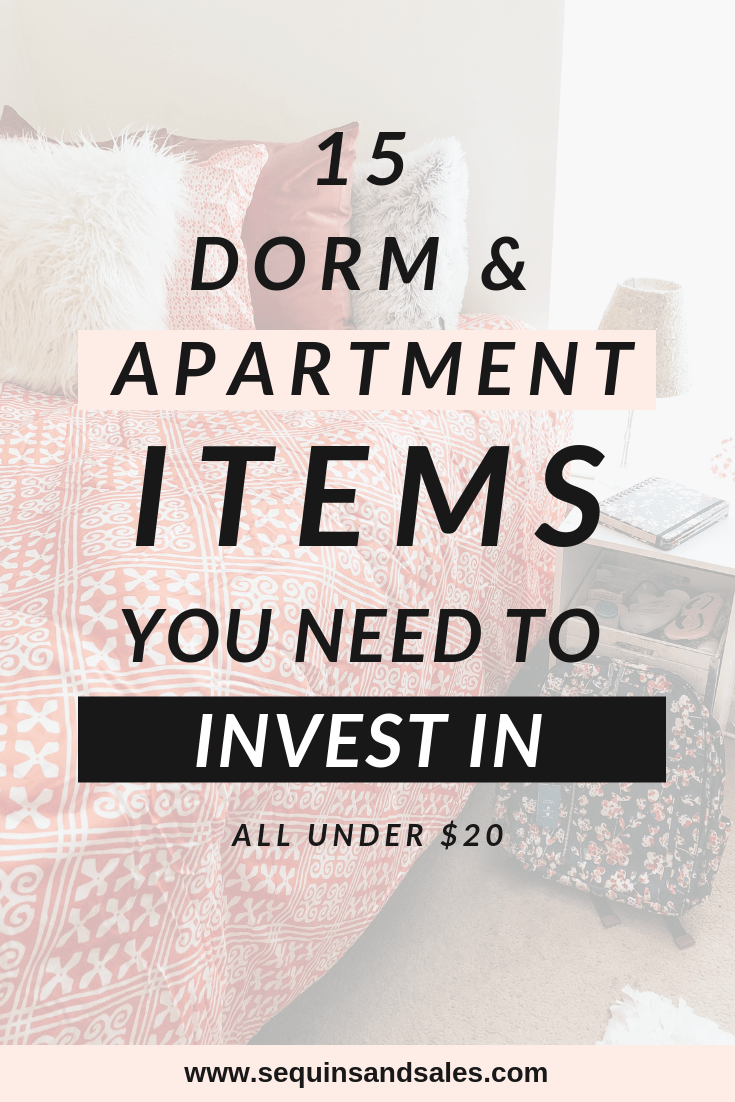 15 Dorm & Apartment Must Haves Under $20 images