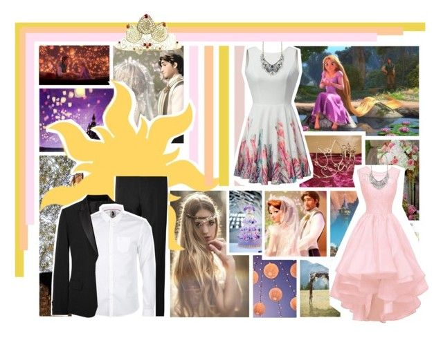 """""""Rapunzel & Flynn"""" by jawind ❤ liked on Polyvore featuring art"""