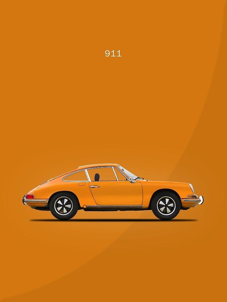 The 68 911 Canvas Print By Rogue Design Redbubble Porsche 911 Porsche Wall Art Prints