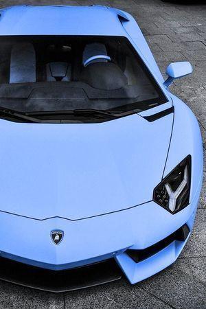 Amazing lilac / dusty blue / lavender Lamborghini #blue #restor A U T O S