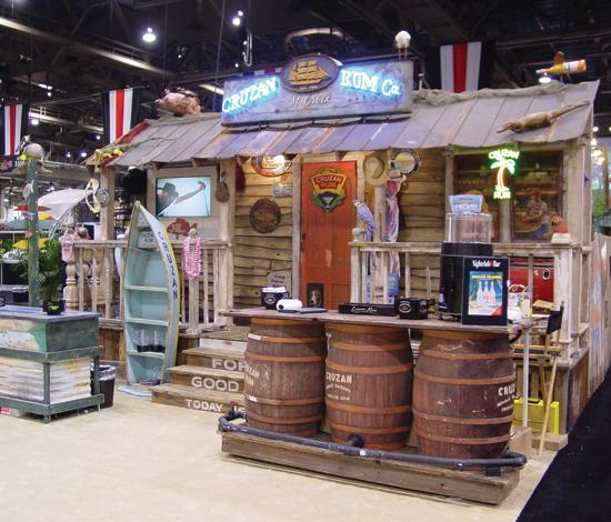 Custom Trade Show Booth Design