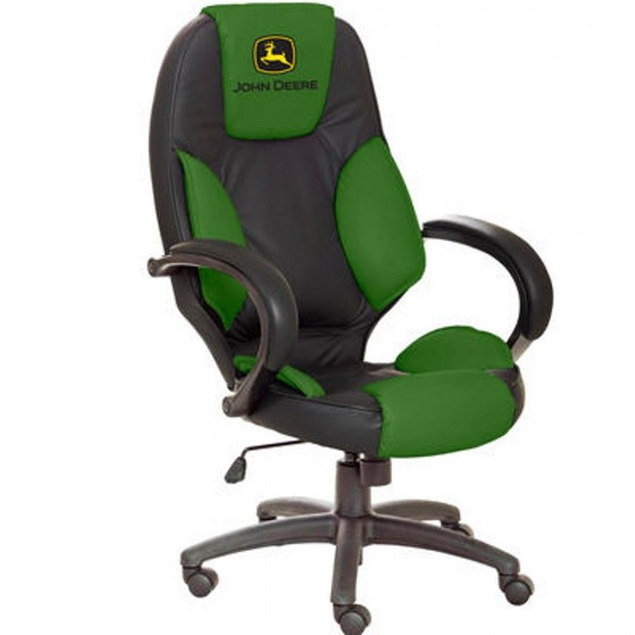 John Deere Leather Desk Chair   Furniture   For The Home | RunGreen.com