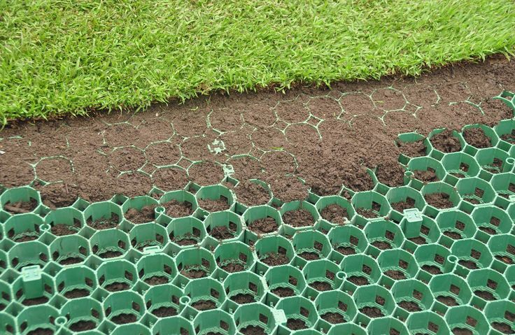 Core Grass Pavers Turf Reinforcement Grids Reinforced