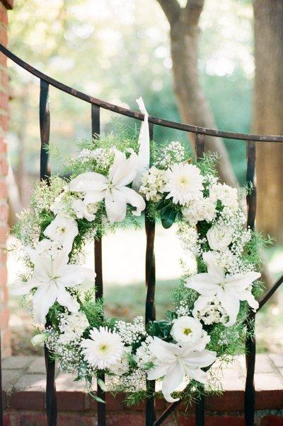 Beautiful Floral Wreath.