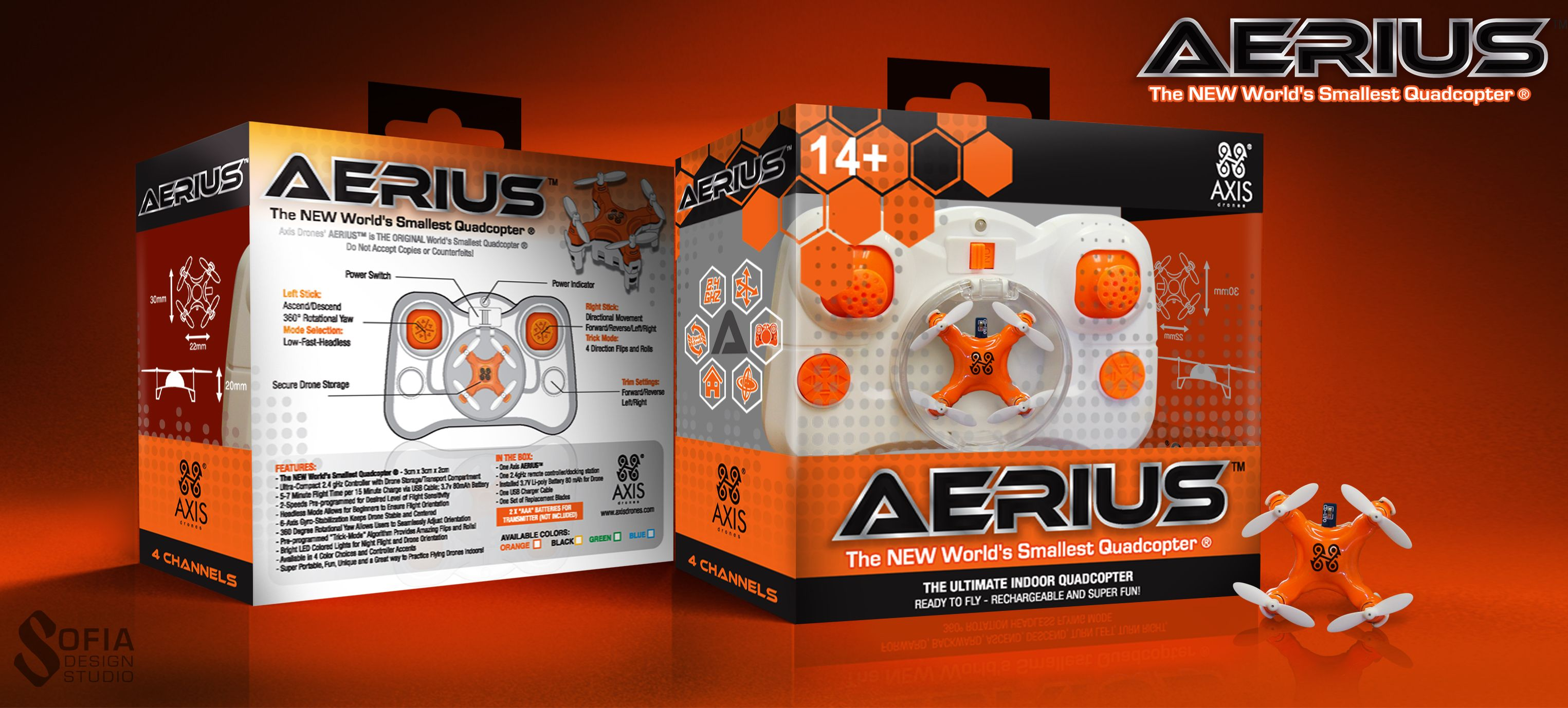 Axis AERIUS Drone | Small drones, Drone, Quadcopter