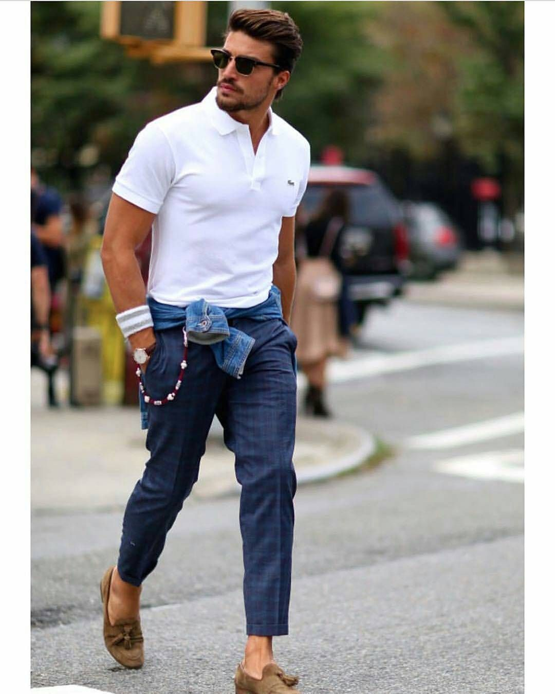 Modern men casual outfit - Yes or no? | Mens outfits, Polo ...