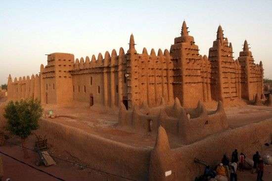 People say they were so far away that it might as well have been Timbuktu.  Why don't you actually visit Timbuktu, Mali?