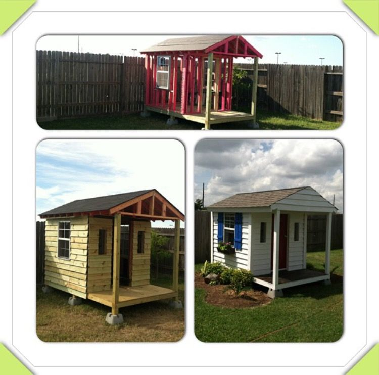 Custom Playhouse And Doghouse Houston Tx With Images Play