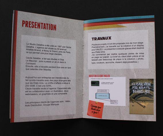 rapport de stage d u0026 39  u00e9l u00e8ve de bts design graphique sp u00e9cialit u00e9 produit imprim u00e9