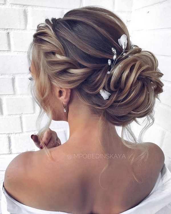 23 Evergreen Romantic Bridal Hairstyles: 30 Half Up Half Down And Updo Wedding Hairstyles From