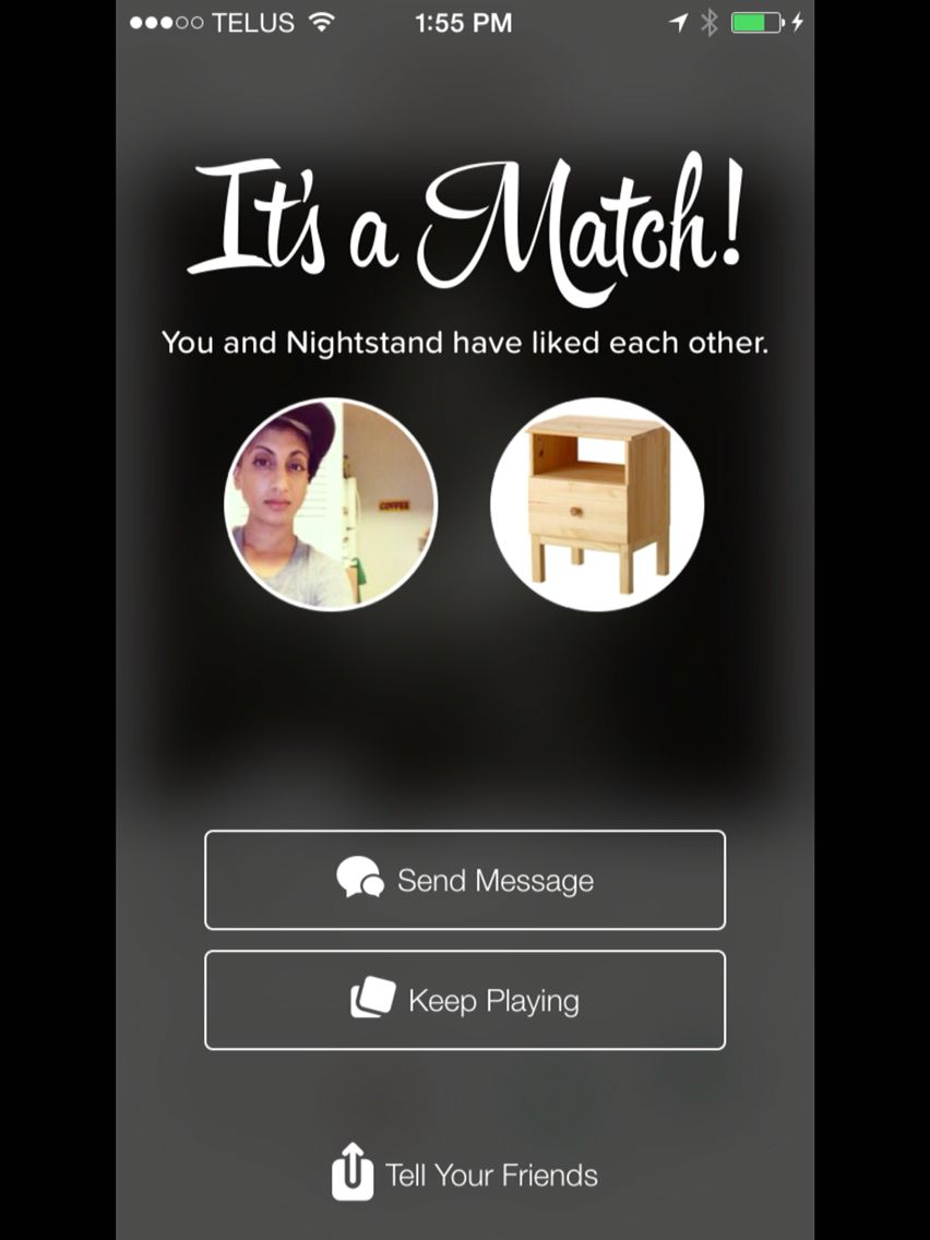 I matched with a one night stand on tinder   One night