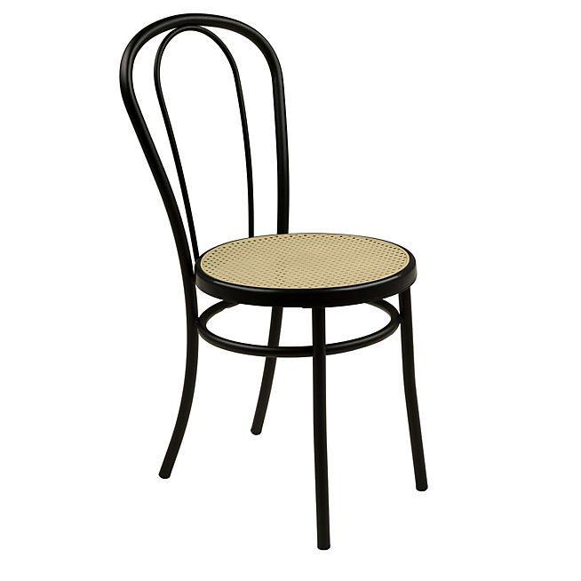 bistrot chaise noire style bistrot bricolage table et. Black Bedroom Furniture Sets. Home Design Ideas