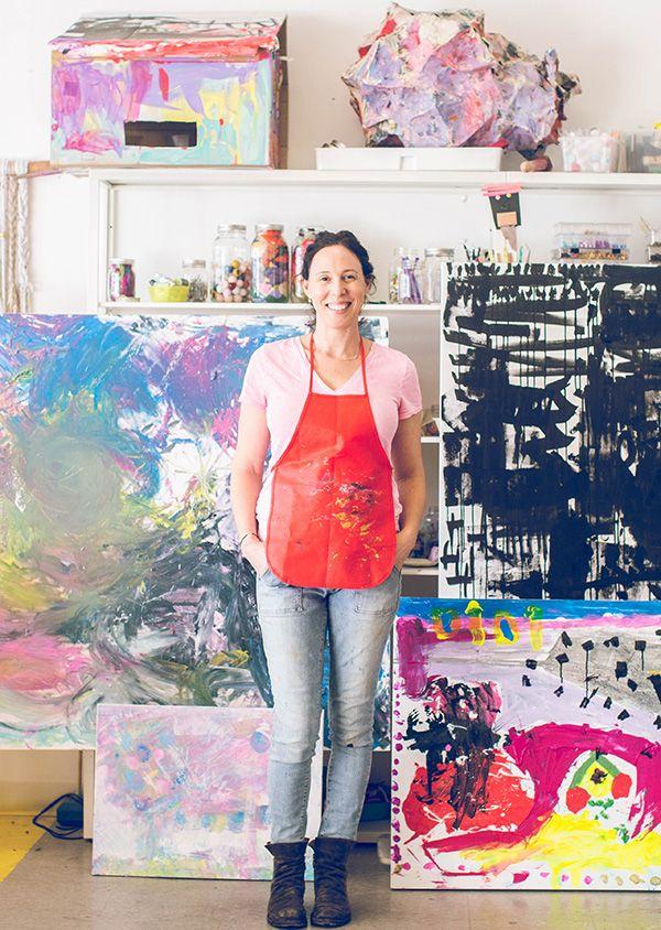 A Private Family Art Experience Meri Cherry Childminding Roombat Mitzvahstudio Ideasart