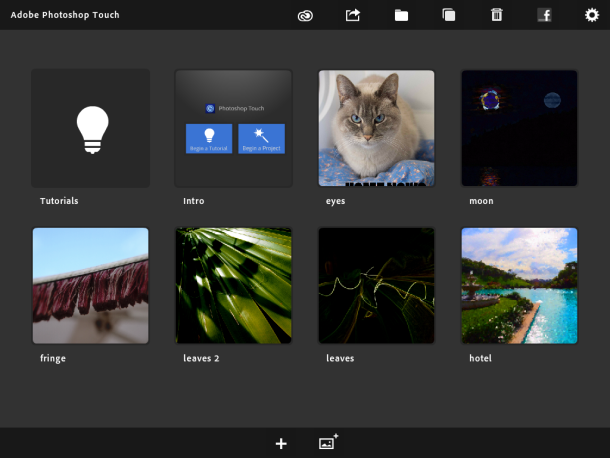 Adobe Touch iPad app now supports Retina Display