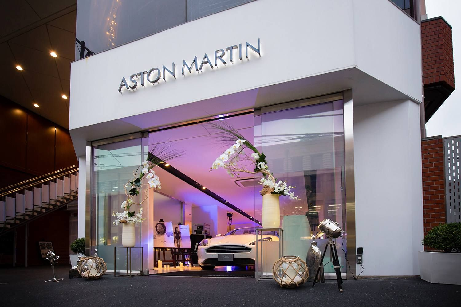 Images From Another Stunning Aston Martin Dealer Event This Time At Our Atlantic Cars Showroom In Tokyo Whic Car Showroom Aston Martin Dealership Aston Martin
