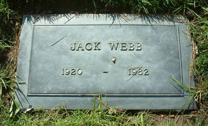 Jack webb april 2 1920 to december 23 1982 cod heart - Hollywood hills tv show ...