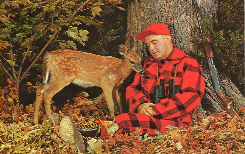 Hunting   Postcard, Old postcards, Vintage postcards