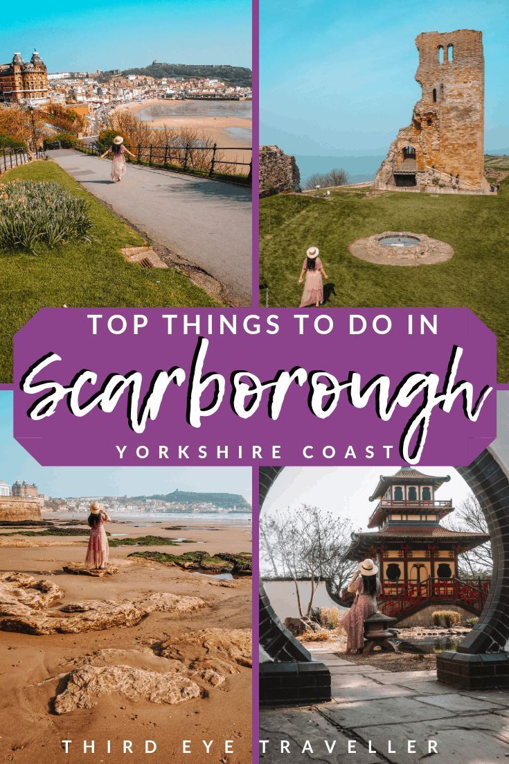 Are you going to Scarborough Fair? This post has all the amazing things to do in Scarborough - the oldest seaside resort in England! Peasholm Park, Scarborough Castle, Central Tramway, The Grand Hotel Scarborough, Scarborough Spa and more #scarboroughspa #scarborough #grandhotelscarborough #visitscarborough