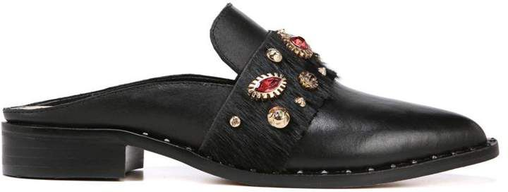 5b2b5d90e Sam Edelman Laird Leather and Embellished Mule