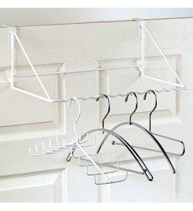 Over Door Rack For Clothing Hangers Image Over The Door Hanger