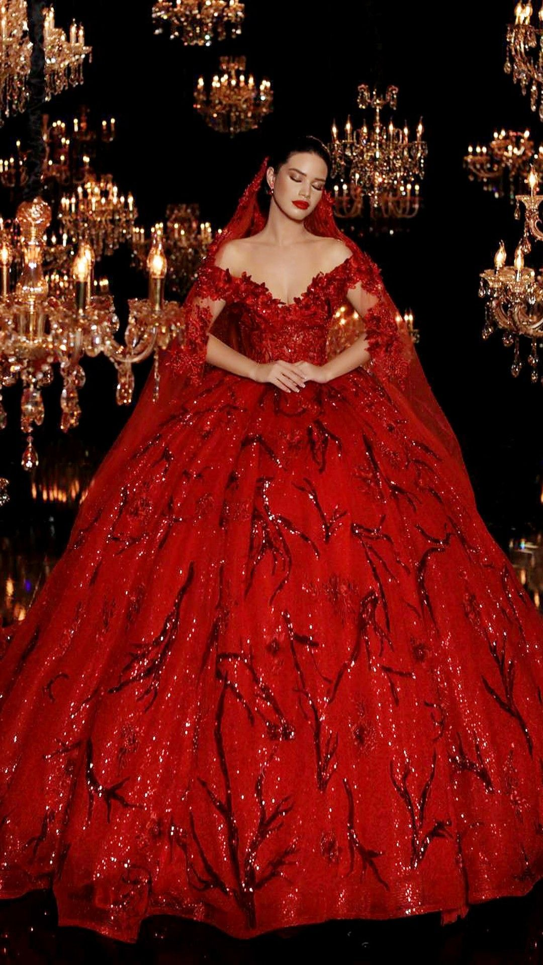 45++ Red wedding gown images ideas in 2021