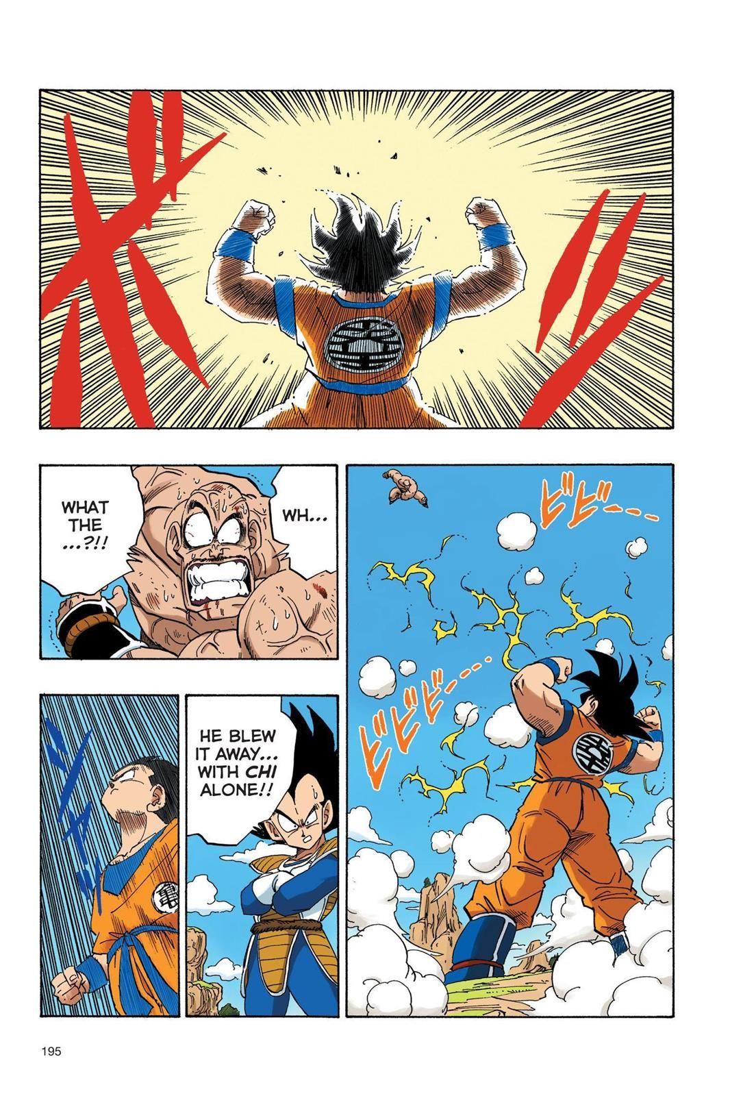 Dragon Ball Full Color Saiyan Arc Chapter 31 Page 10 Dragon Ball Super Manga Dragon Ball Art Dragon Ball Super Goku