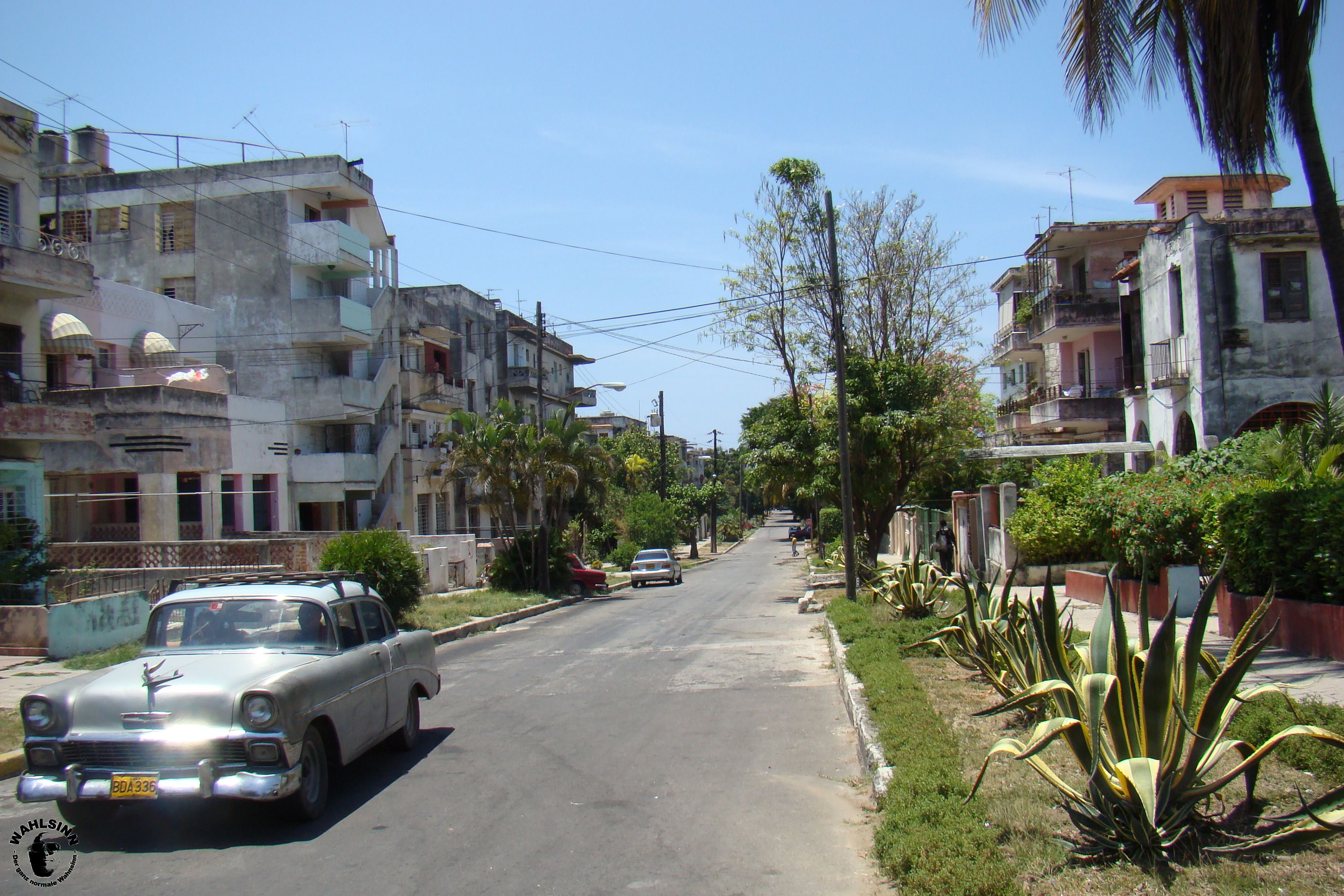 Nur eine Straße irgendwo in Havanna (Kuba)