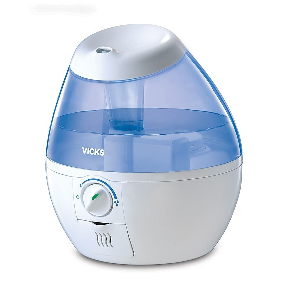 Vicks Mini Filter-Free Cool Mist Humidifier White - The Vicks Mini Filter-Free Cool Mist Humidifier provides soothing mist for temporary relief of cough and congestion for better breathing and a more comfortable sleep. Designed for low maintenance operation, requires no filters and is ultra-quiet.