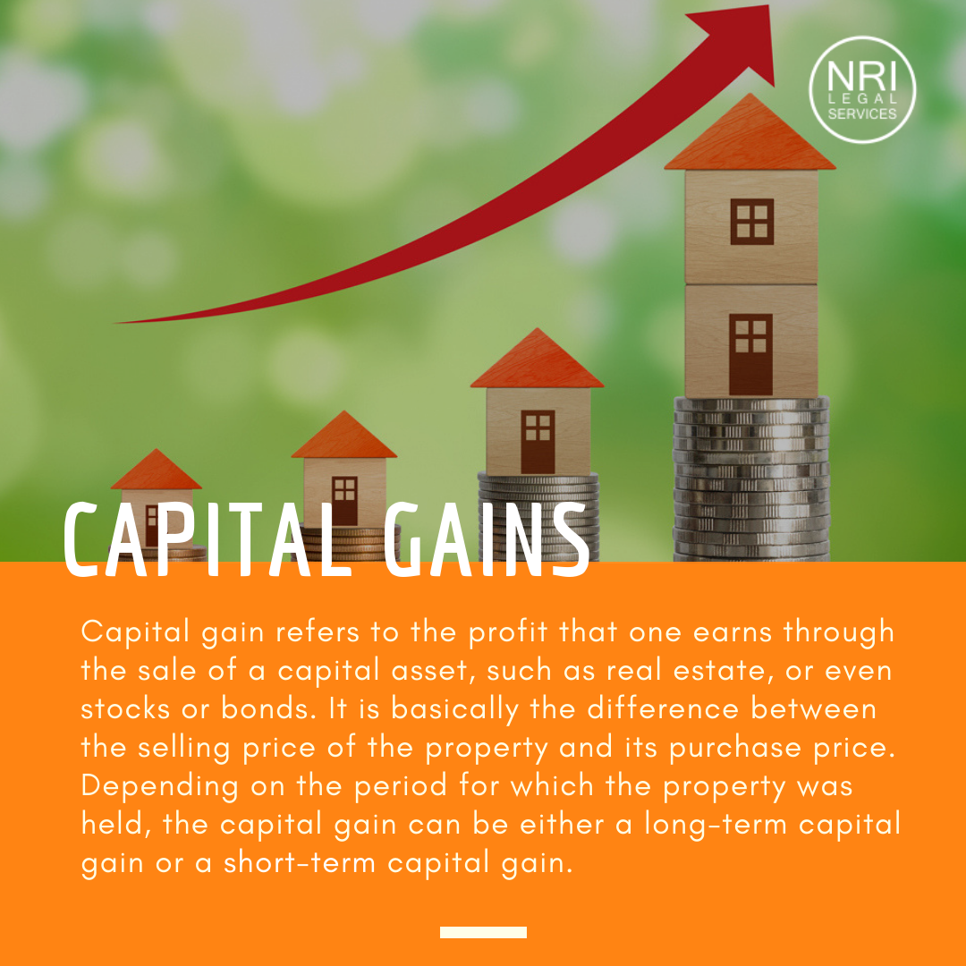 Tax On Capital Gains For Non Resident Of India Nri