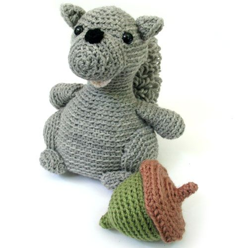 Squirrel Stuffed Animal Crochet Pattern