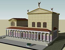 Curia Julia Reconstruction (Diocletian)