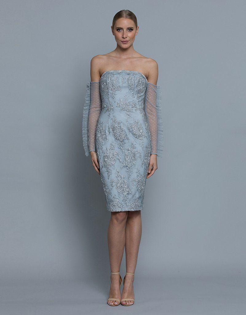 Natalie Strapless Long Sleeve Dress Bb36d06 S Bariano Long Sleeve Dress Dresses Strapless Long Sleeve Dress [ 1024 x 800 Pixel ]