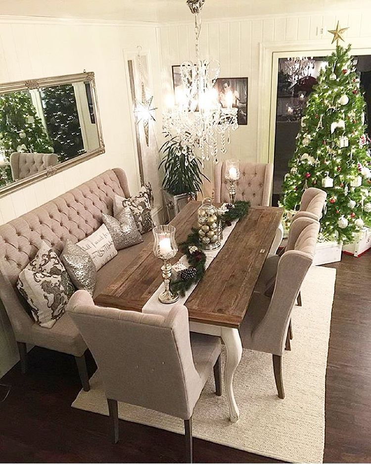 """Dining room goals Looks gorgeous, so festive #furniture #furnitures #furnituredesign #furnitureporn #furnitureshopping #interior #instagood…"""
