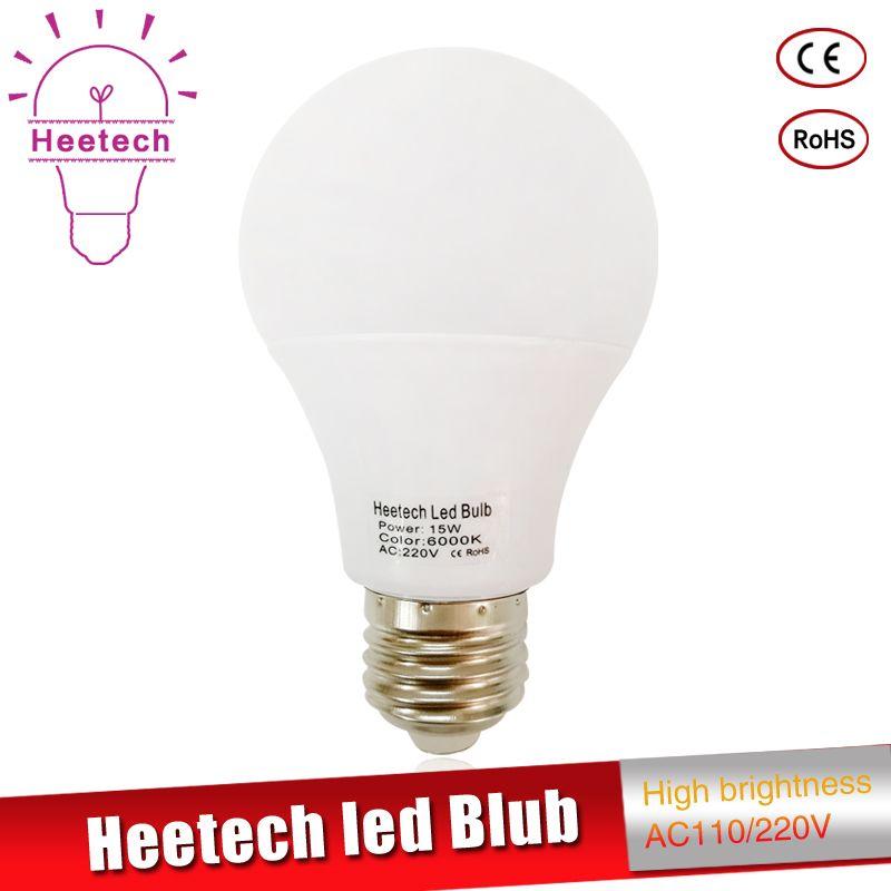 Echt Power Led Lampe E27 Led Lampe B22 110 V 220 V 230 V Led