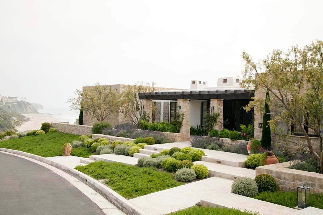 17 Opulent Mediterranean Landscape Designs Are The Daily: Agréable Résidence De Vacances Sur La Côte Californienne