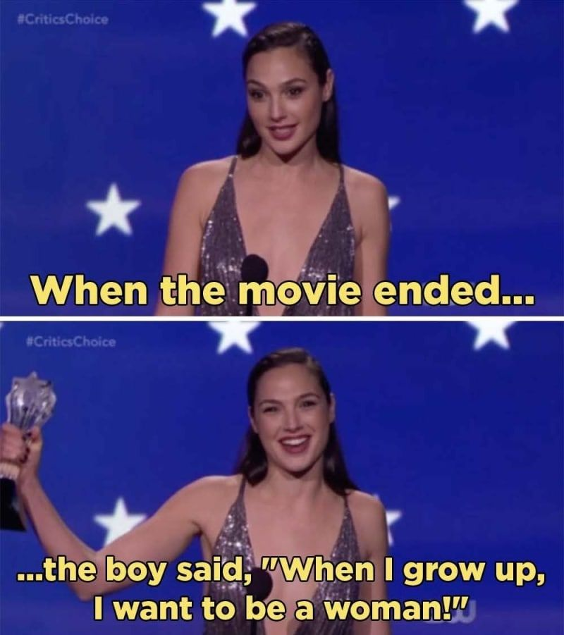 Gal Gadot Gave A Powerful Speech About Wonder Woman And Equality Wonder Woman Quotes Wonder Woman Funny Gal Gadot Wonder Woman