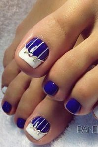 fantastic art work toe nailsthese days not only