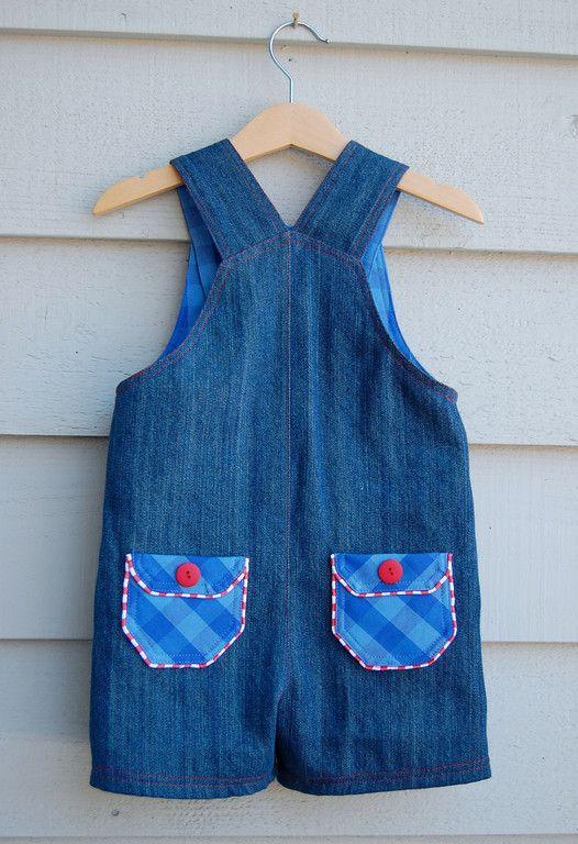 Desejo Concedido: Jardineira infantil   roupa infantil   Pinterest ...