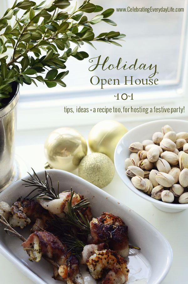 Christmas Open House Party Ideas Part - 33: Holiday Open House 101, How To Host A Holiday Open House, Celebrating  Everyday Life