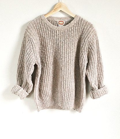 80s Banana Republic Sweater Shaker Knit Sweater by ImprovGoods ...