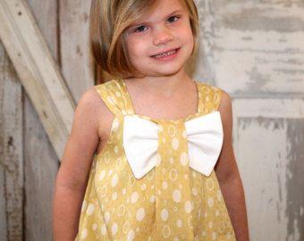 Items similar to Sunny Flower Pillowcase Dress - Girl Christmas Dress Pattern PDF. Kid\u0027s Children\u0027s