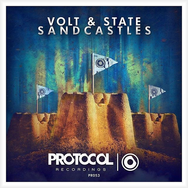 Volt & State – Sandcastles (single cover art)