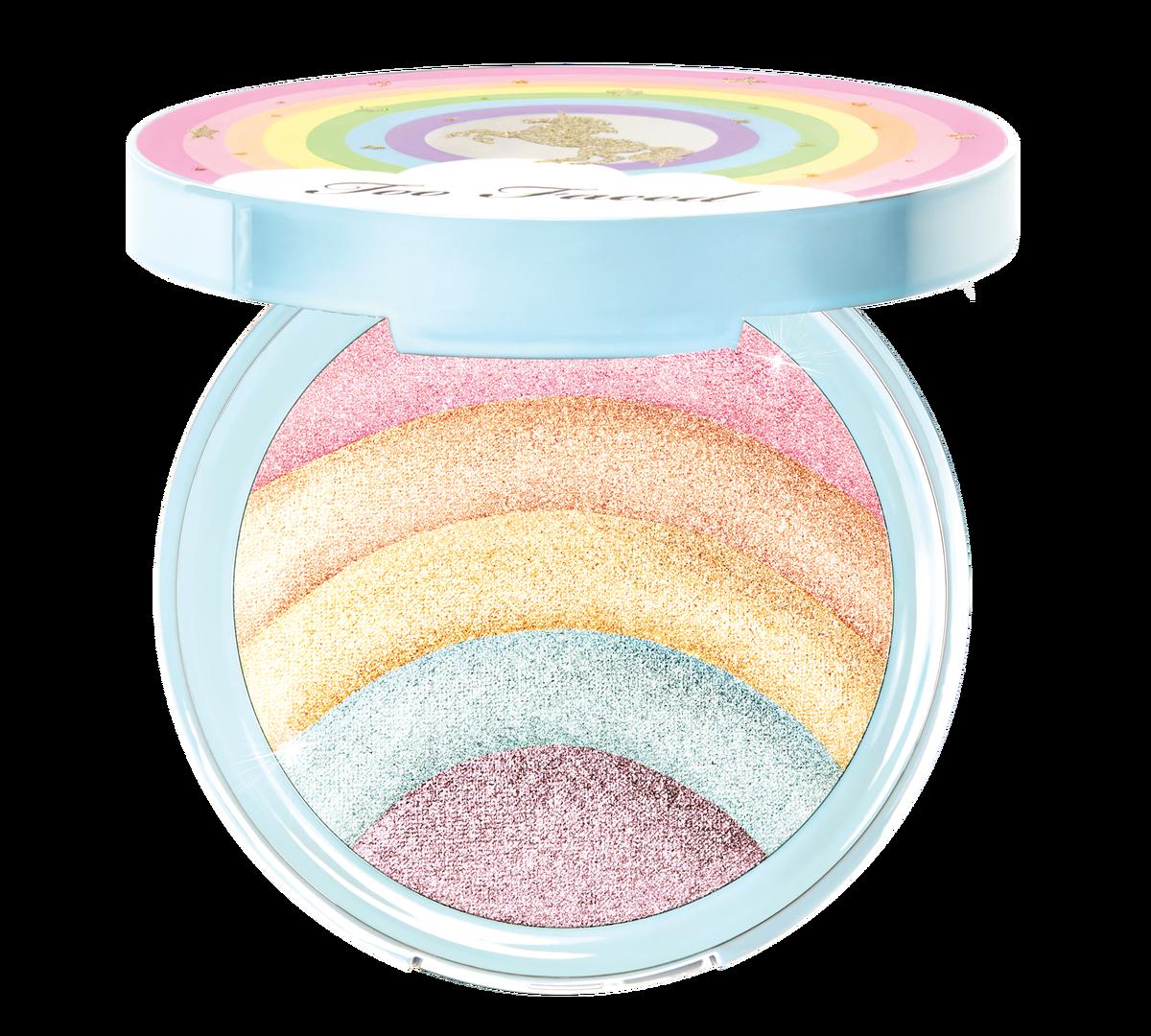 30 Rainbow Makeup Palette Rainbow Strobe Prismatic