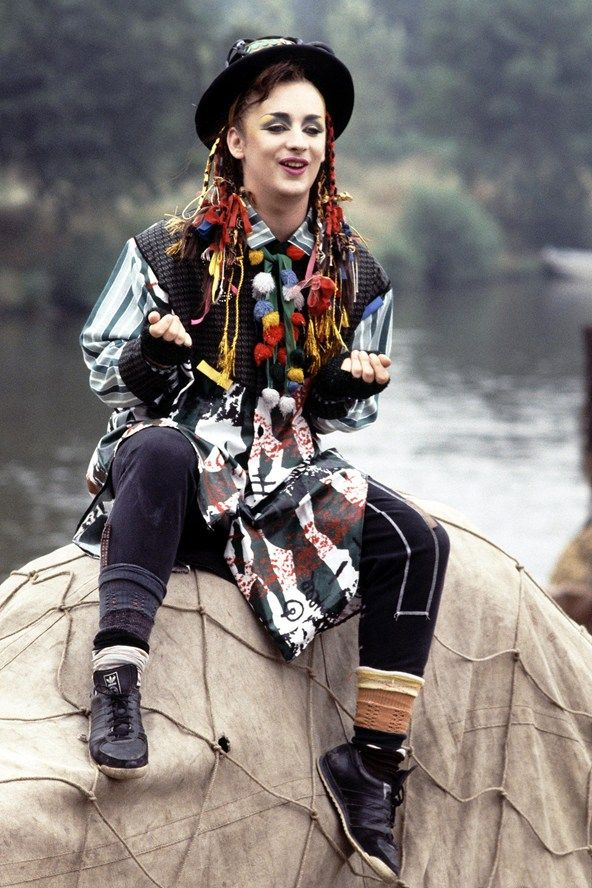 boy george 80s clothes