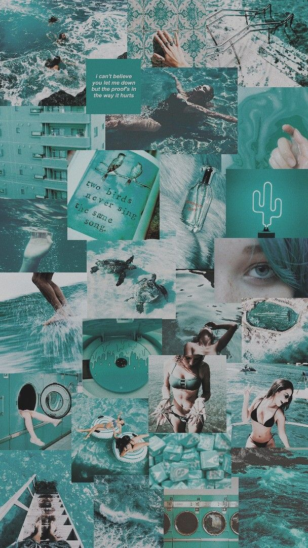 teal aesthetic ♡ Aesthetic pastel wallpaper, Aesthetic