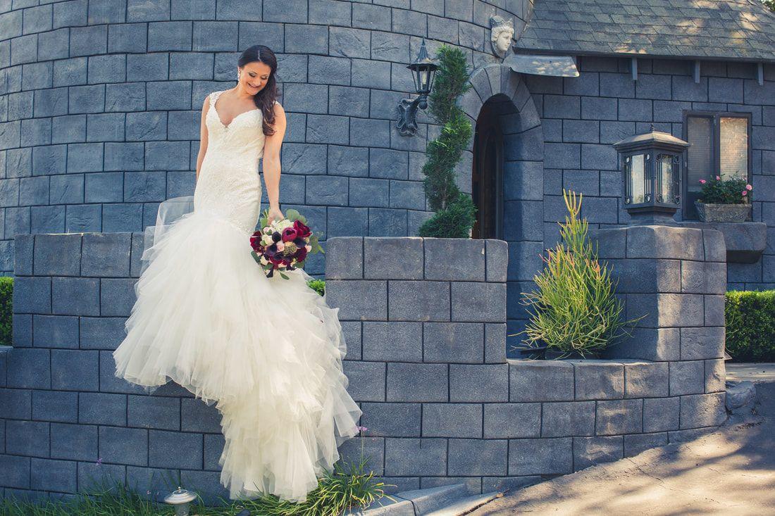 Princess Bride Enchanted Forest Disney Wedding