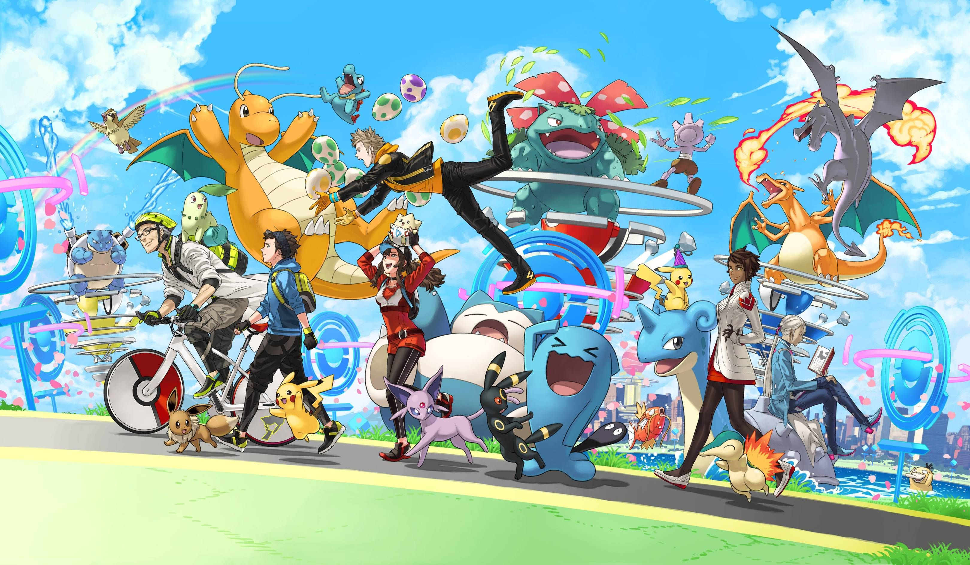 Pokemon Go Brings Lots Of InGame Events As They Celebrate